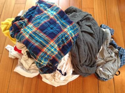 断捨離した下着やパジャマ