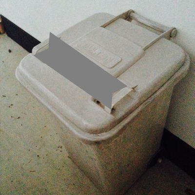 ダルトンのゴミ箱
