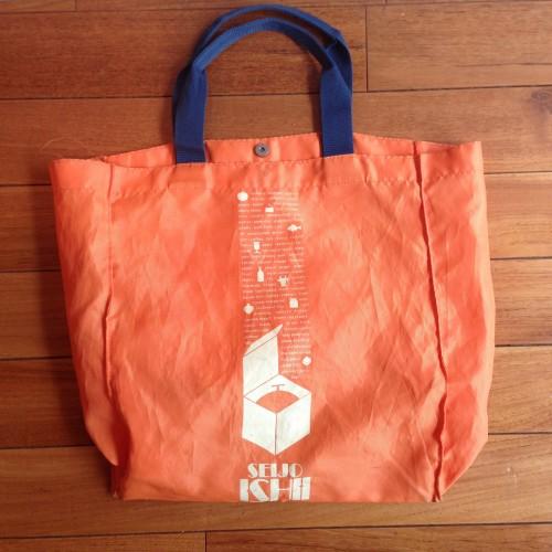 成城石井買い物バッグ