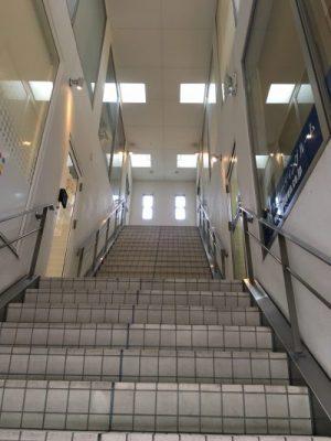 3階までの階段