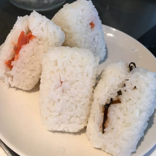 鮭と昆布のおにぎり