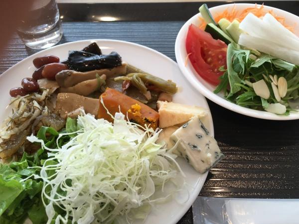 朝食バイキング野菜