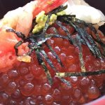 朝食バイキング海鮮丼